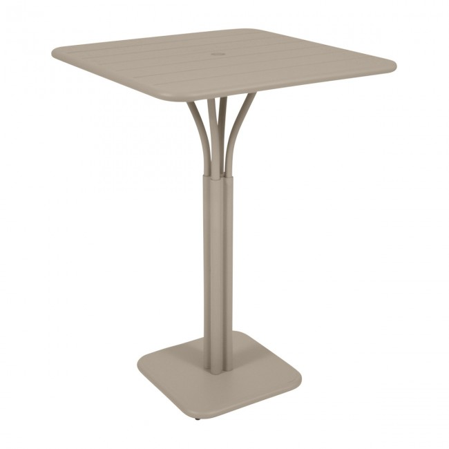 [Fermob/페르몹] Luxembourg Bar Table 80 x 80 cm Muscade // 룩셈부르크 바 테이블 80 x 80 cm 미스카드