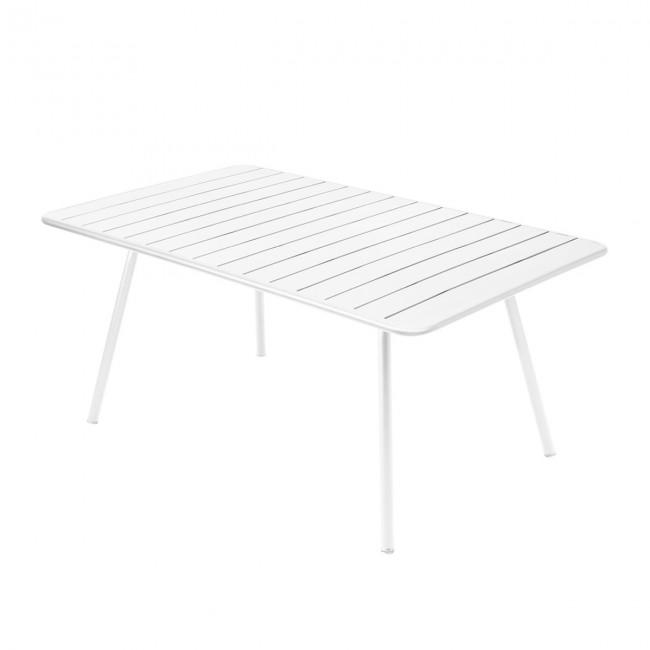 [Fermob/페르몹] Luxembourg Table 165 x 100cm Cotton White // 룩셈부르크 테이블 165 x 100cm 코튼 화이트