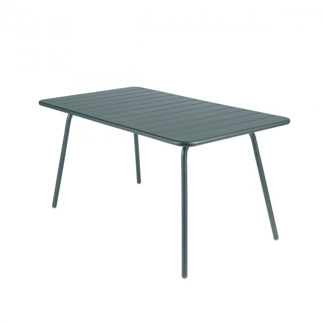 [Fermob/페르몹] Luxembourg Table 80 x 143 cm Stormy Grey // 룩셈부르크 테이블 80 x 143 cm 스토미 그레이