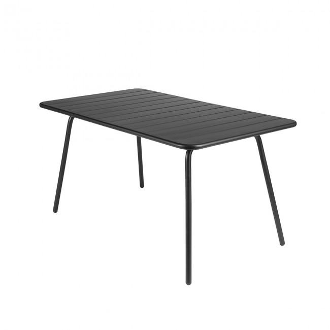 [Fermob/페르몹] Luxembourg Table 80 x 143 cm Anthracite // 룩셈부르크 테이블 80 x 143 cm 앤트러사이트