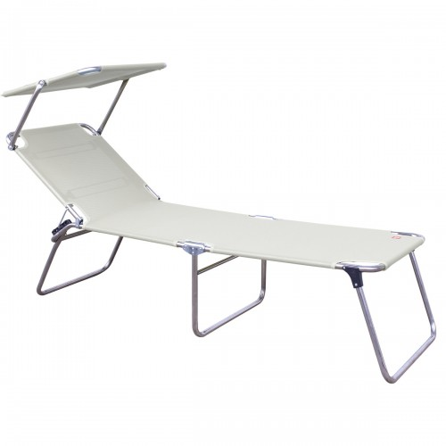 [Fiam/피암] Amigo Fourty-Sun Three-legged Lounger with Sunshade // 아미고 포티-썬 3-레그 라운저 위드 썬쉐이드