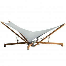 [Cacoon/카쿤] Kajito hammock / deck chair, bamboo structure, fabric, earth / moon