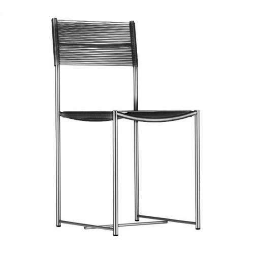 [Alias] 101 Spaghetti Chair (chromed steel)