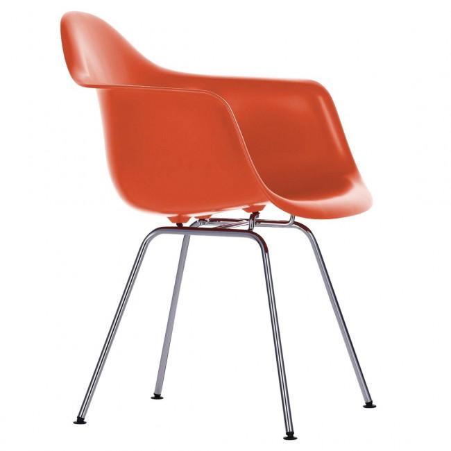 [Vitra/비트라] Eames Plastic Armchair DAX Chromed Base // 임스 플라스틱 암체어 DAX - 03 poppy red