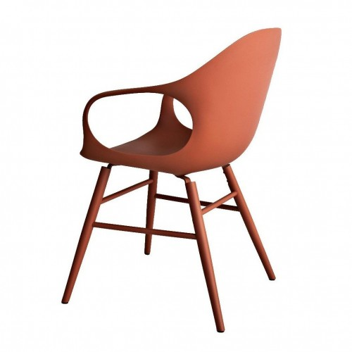 [Kristalia/크리스탈리아] Elephant Armchair with Wood Frame