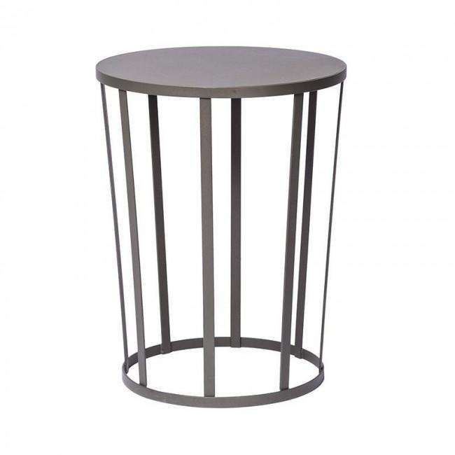 [Petite Friture/쁘띠 프리튀르] Hollo Stool/Side Table Ø35cm Grey // 홀로 스툴/사이드 테이블 Ø35cm 그레이