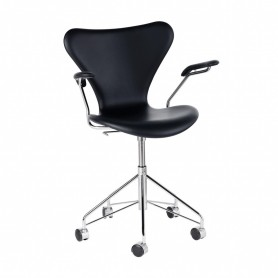 [Fritz Hansen/프리츠한센] Serie 7 Swivel Armrest Chair / Office Chair // 시리즈 7 스위블 암레스트 체어 / 오피스 체어