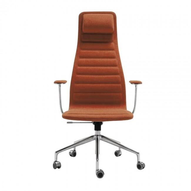 [Cappellini/카펠리니] Lotus High Office Chair With Wheels // 로터스 하이 오피스 체어 위드 휠