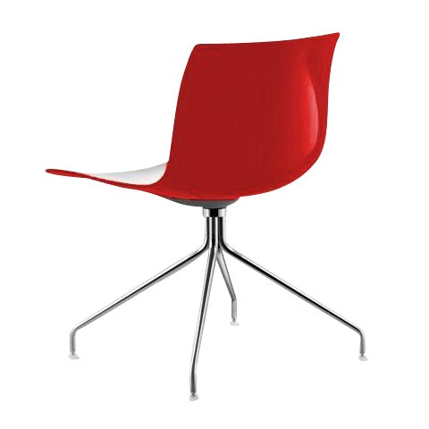 [Arper/아르페르] Catifa 46 Chair Bicoloured With Star-Base // 카티파 46 체어 바이컬러 위드 Star-Base