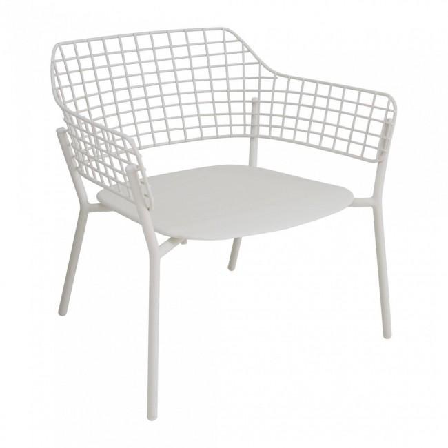 [Emu/에뮤] Lyze Garden Lounge Chair White // 라이즈 가든 라운지체어 화이트