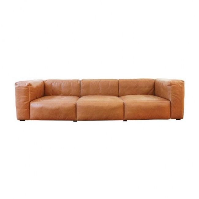 [HAY/헤이] Mags Soft 3 Seater Leather Sofa Cat.6 // 매그 소프트 3 시터 레더 소파 Cat.6