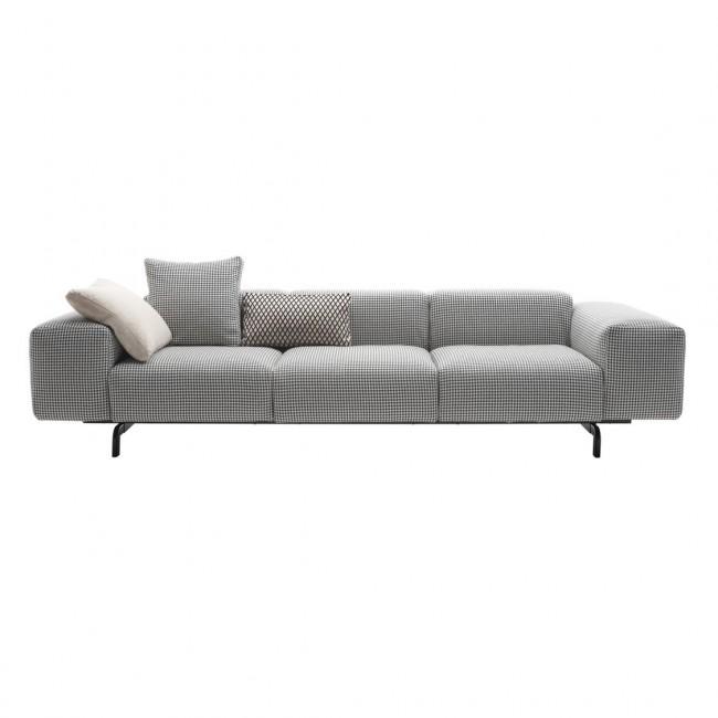 [Kartell/카르텔] Largo 3 Seater Sofa - Pied de Poule // 라르고 3 시터 소파 - 피에데 포울