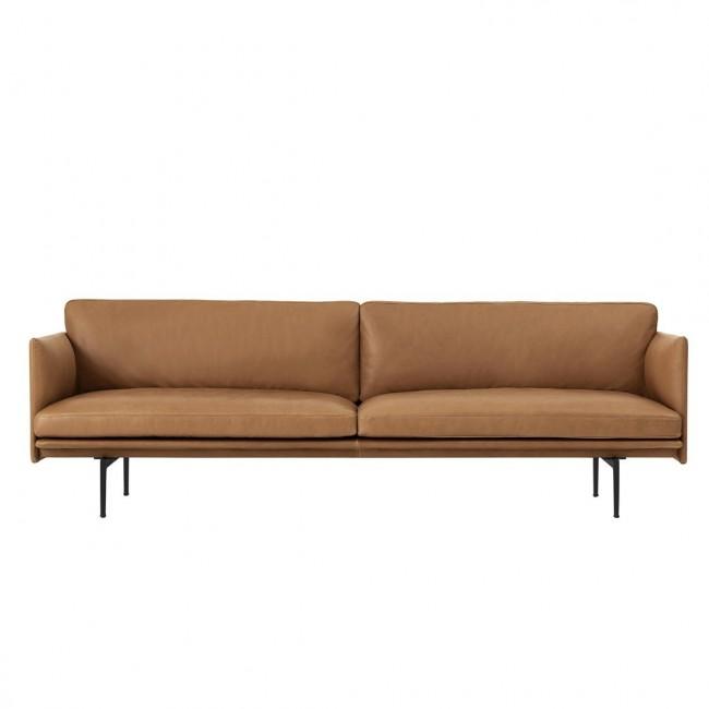 [Muuto/무토] Outline Sofa 3 Seater / Leather // 아웃라인 소파 3 시터 / 레더