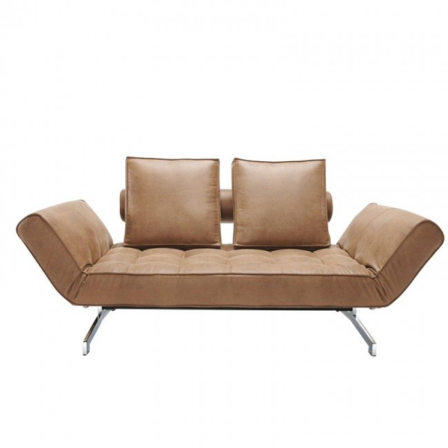 [Innovation/이노베이션] Ghia Artificial Leather Sofa Bed