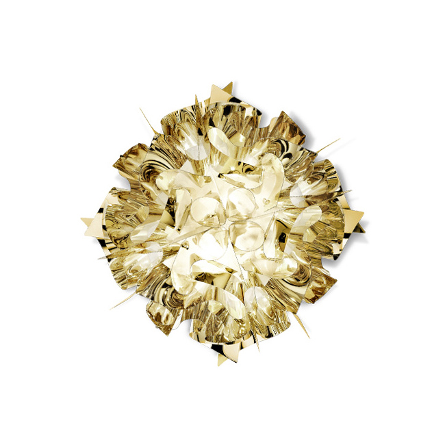 [Slamp/슬램프] Veli Ceiling / Wall Mini - gold // 벨리 실링 / 월 미니 - 골드