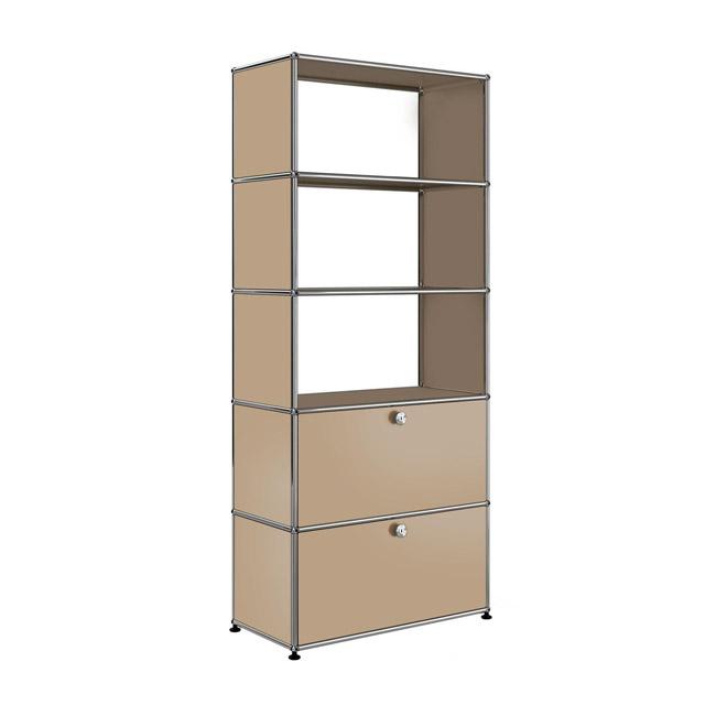 [USM Haller/유에스엠 할러] Shelf With 3 Compartm. & 2 Falling Boards // 쉘프 위드 3 컴파트먼츠 & 2 폴링 보드