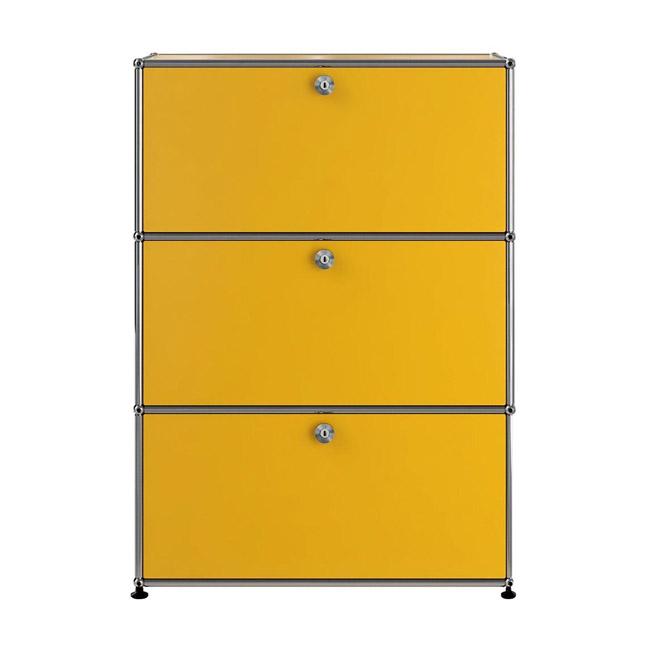 [USM Haller/유에스엠 할러] 1x3 Module System (3-door, 0-pannel, W77 x H109) // 1x3 모듈 시스템 (3-door, 0-pannel, W77 x H109)