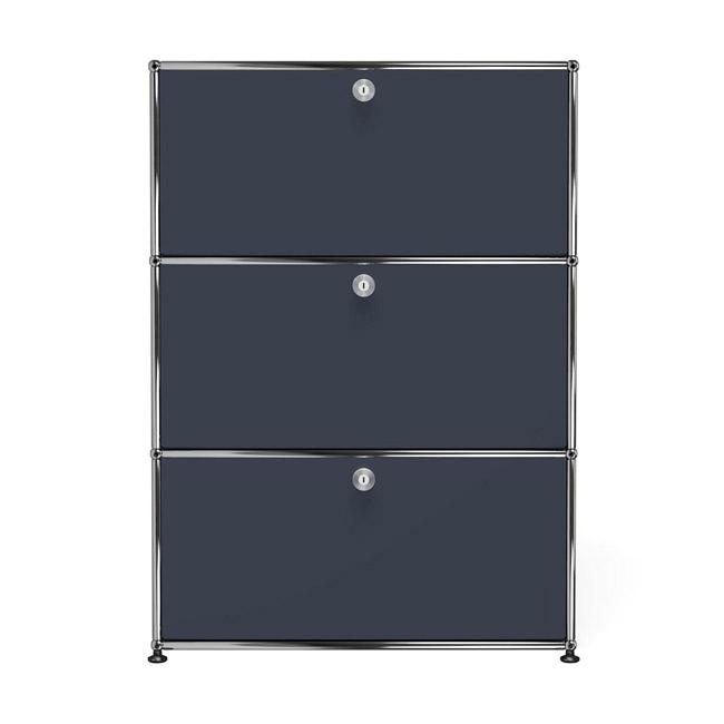 [USM Haller/유에스엠 할러] Storage Unit With 3 Falling Boards // 스토리지 유닛 위드 3 폴링 보드