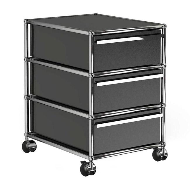 [USM Haller/유에스엠 할러] Container With Wheels & 3 Drawers // 컨테이너 위드 휠 & 3 드로어