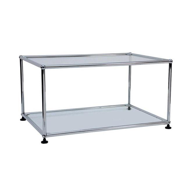 [USM Haller/유에스엠 할러] Side Table transparent 77 x 37 // 사이드 테이블 트랜스페런트 77 x 37