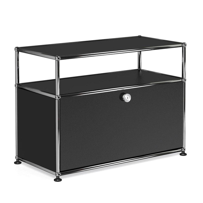 [USM Haller] Container With Shelves & Folding Board