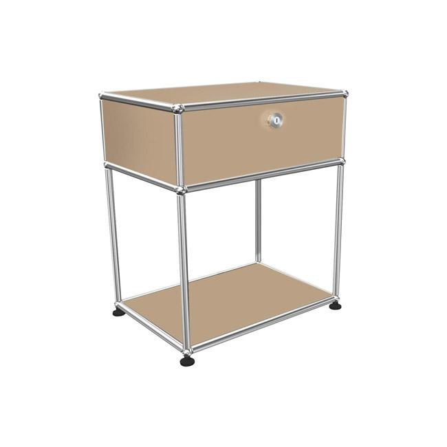 [USM Haller/유에스엠 할러] Bedside Table With Falling Board H 61cm // 베드사이드 테이블 위드 폴링 보드 H 61cm