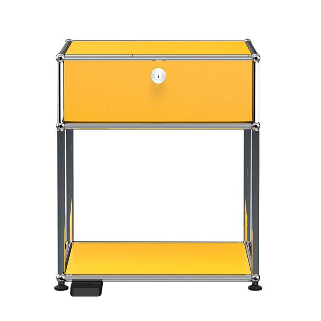 [USM Haller/유에스엠 할러] Bedside Table with Folding door and Light // 베드사이드 테이블 위드 폴딩 도어 앤 라이트