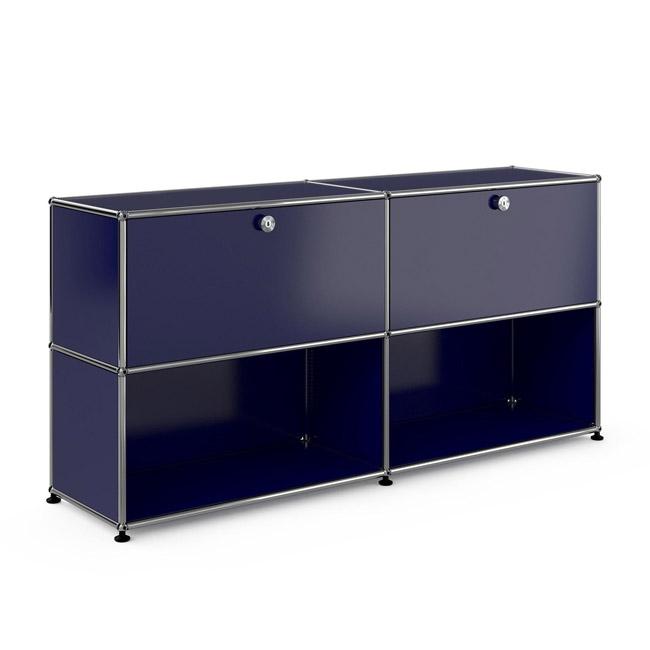[USM Haller/유에스엠 할러] 2x2 Module System (2-top-door, 4-3-pannel, W153 x H74) // 2x2 모듈 시스템 (2-top-door, 4-3-pannel, W153 x H74)