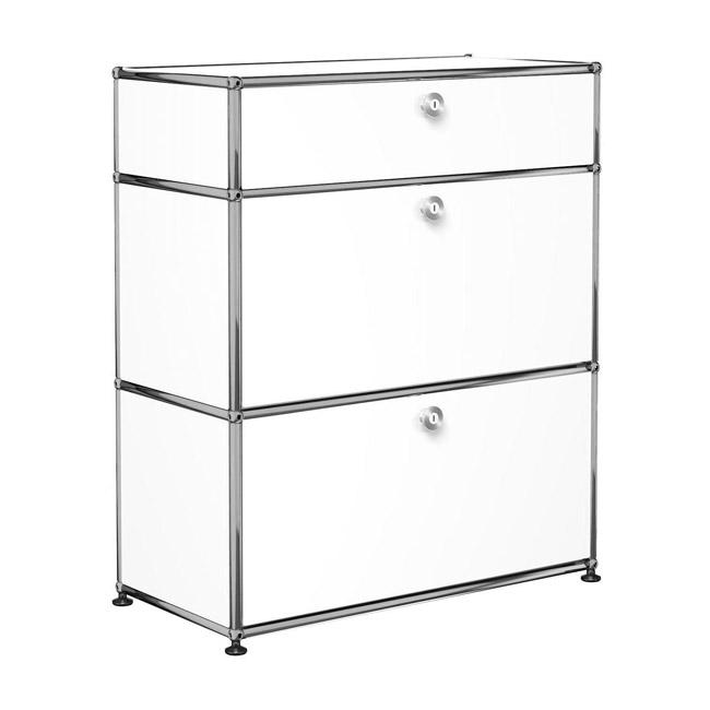 [USM Haller/유에스엠 할러] 1X3 Module System (3-drawer, 0-pannel, W79 x H92) // 1X3 모듈 시스템 (3-drawer, 0-pannel, W79 x H92)