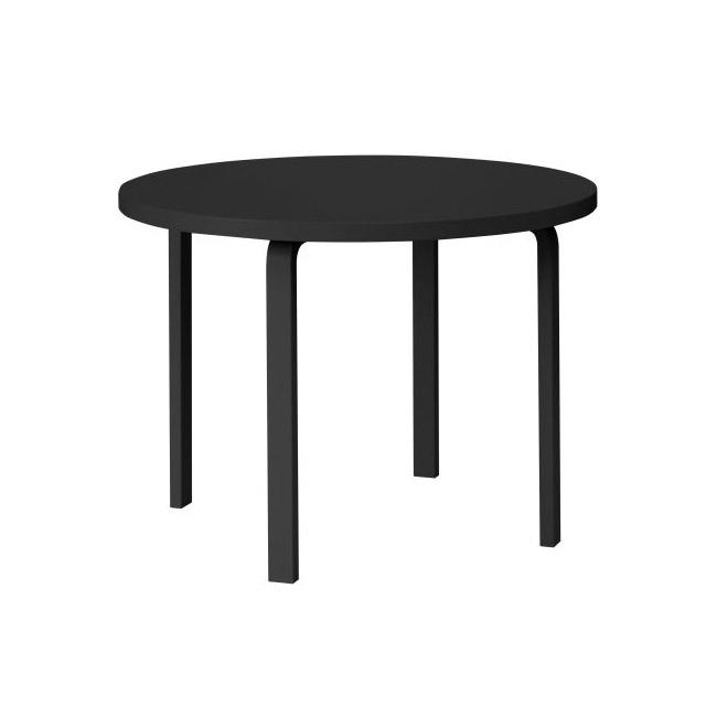 [Artek/아르텍] Aalto Table round 91 (Table top diameter 125 cm) // 알토 테이블 라운드 91 (테이블 탑 직경 125 cm)