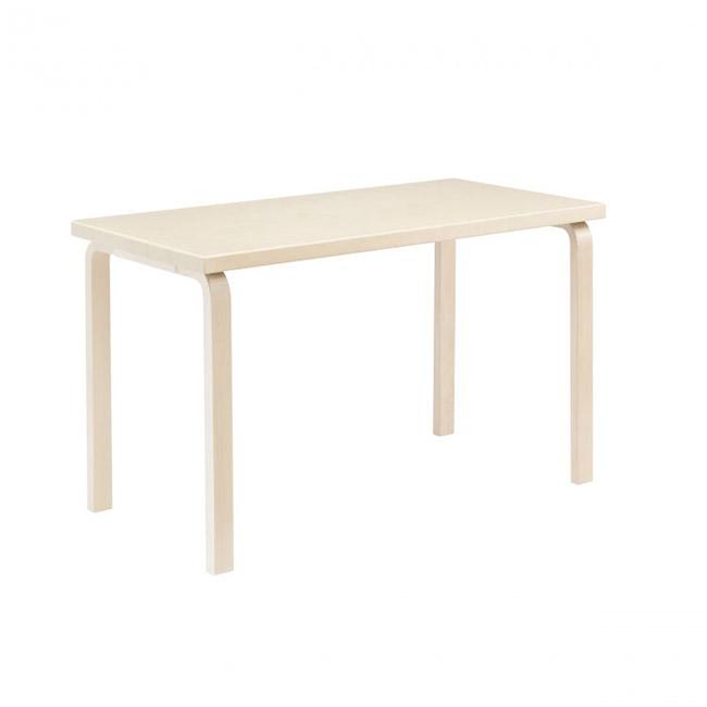 [Artek/아르텍] Aalto rectangular Table 80A (Table top 120 x 60 cm) // 알토 직사각 테이블 80A (테이블 탑 120 x 60 cm)