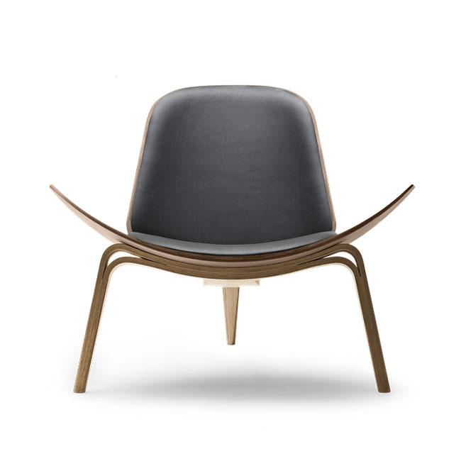 [Carl Hansen & Son/칼한센앤선] CH07 Shell chair - Leather // CH07 쉘 체어 - 레더