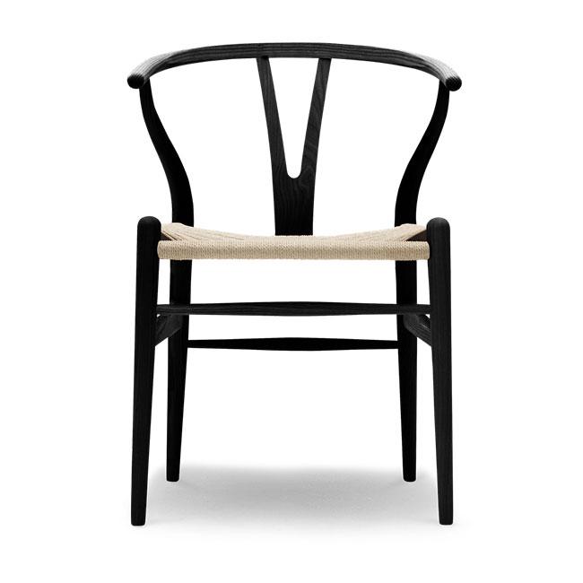 [Carl Hansen & Son/칼한센앤선] CH24 Wishbone chair - Ash black // CH24 위시본 체어 - 애쉬 블랙
