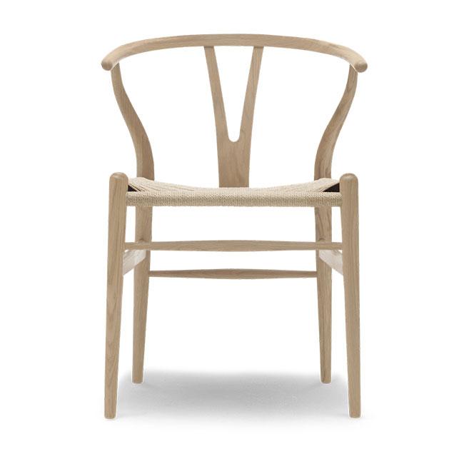 [Carl Hansen & Son/칼한센앤선] CH24 Wishbone chair - Oak white oil // CH24 위시본 체어 - 오크 화이트 오일