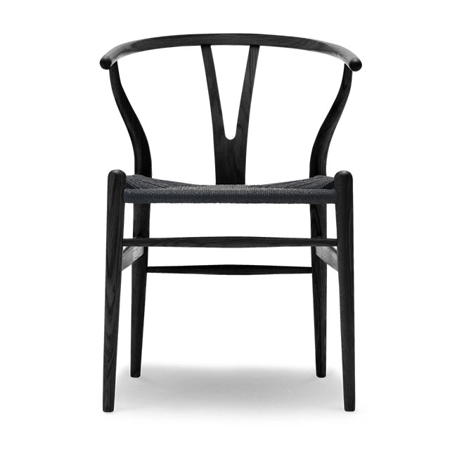 [Carl Hansen & Son/칼한센앤선] CH24 Wishbone chair - Oak black // CH24 위시본 체어 - 오크 블랙