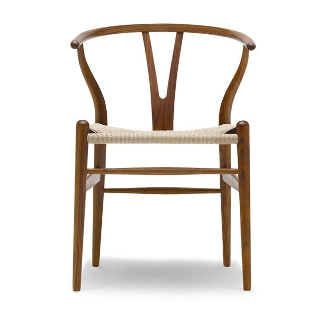 [Carl Hansen & Son/칼한센앤선] CH24 Wishbone chair - Walnut lacquer // CH24 위시본 체어 - 월넛 락카