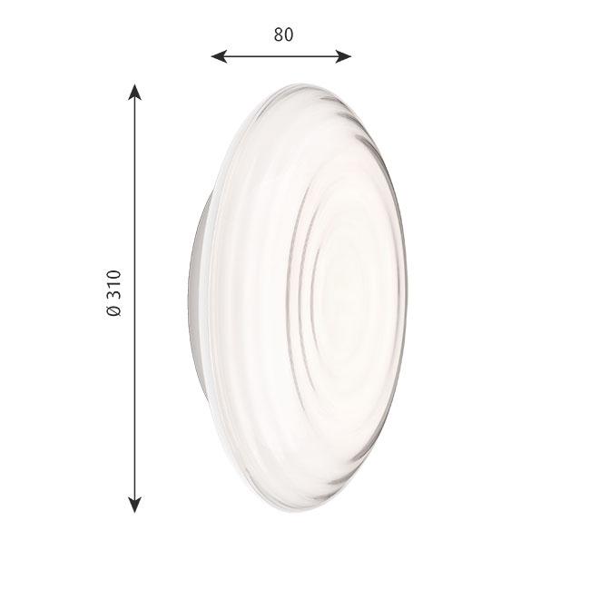[Louis Poulsen/루이스폴센] RIPLS Wall Lamp Ø 310 Motion Sensor // RIPLS 월 램프 Ø 310 모션 센서