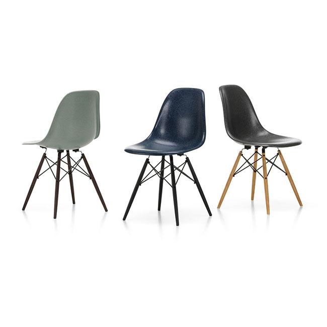 [Vitra/비트라] Eames Fiberglass Side Chair DSW (색상 선택 가능) // 임스 파이버글래스 사이드 체어 DSW