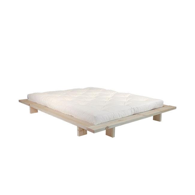 [Karup/카럽] Japan Bed Raw Frame + Mattress 140x200 // 재팬 베드 Raw 프레임 + 매트리스 140x200