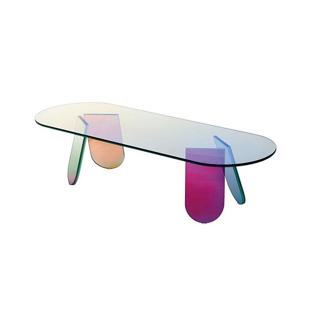 [GLAS ITALIA/글라스 이탈리아] Shimmer Table 140 / 쉬머 테이블 140