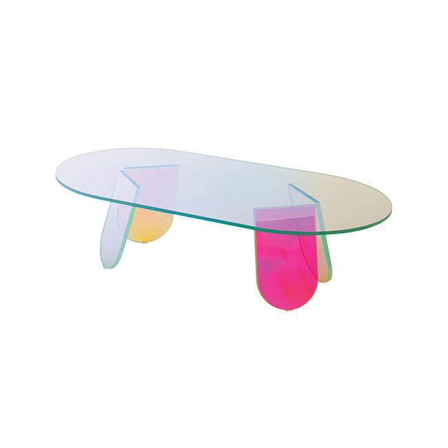 [GLAS ITALIA/글라스 이탈리아] Shimmer Table 120 / 쉬머 테이블 120