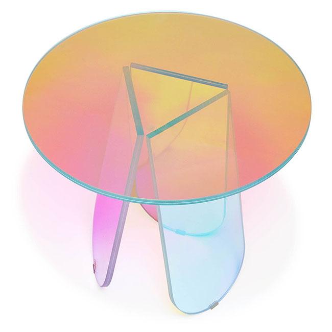 [GLAS ITALIA/글라스 이탈리아] Shimmer Table Ø52 // 쉬머 테이블 Ø52