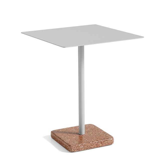 [HAY/헤이] Terrazzo Table square L60 - Sky Grey // 테라조 테이블 스퀘어 L60 - Sky Grey