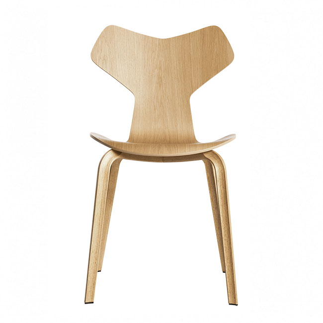[Fritz Hansen/프리츠한센] Grand Prix chair - Oak // 그랑프리 체어 - 오크