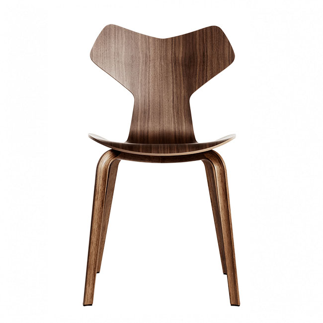 [Fritz Hansen/프리츠한센] Grand Prix chair - Walnut // 그랑프리 체어 - 월넛