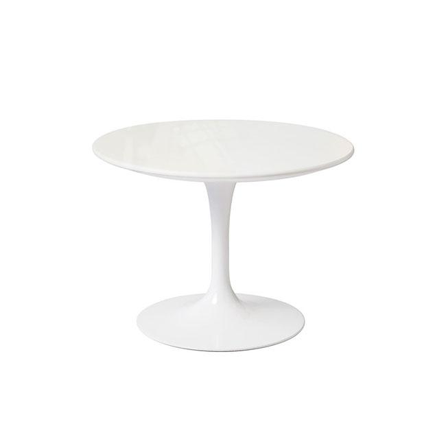 [Knoll/놀] Saarinen Outdoor Side Table, Ø 51 cm // 사리넨 아웃도어 사이드 테이블, Ø 51 cm