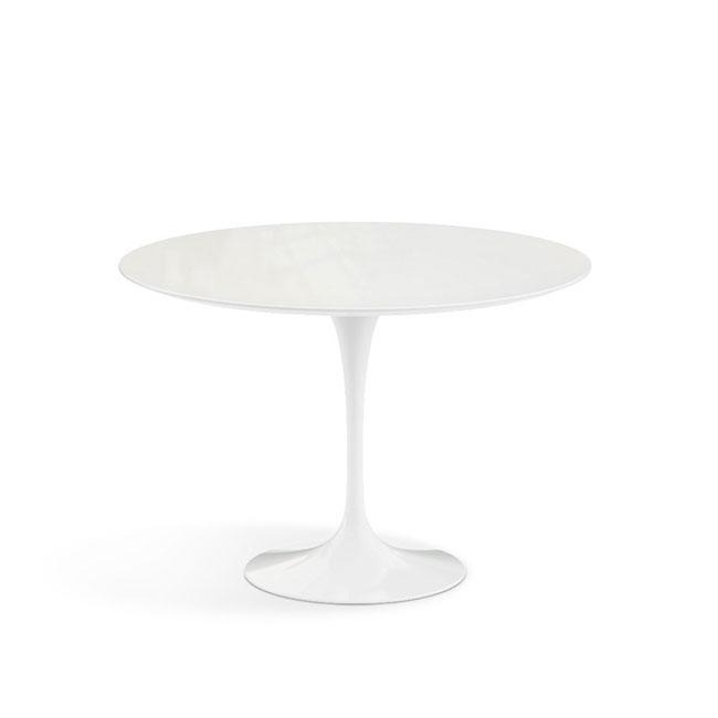 [Knoll/놀] Saarinen Outdoor Dining Table, Ø 107 cm // 사리넨 아웃도어 다이닝 테이블, Ø 107 cm