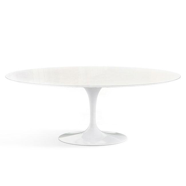[Knoll/놀] Saarinen Outdoor Dining Table, Oval 198 x 121 // 사리넨 아웃도어 다이닝 테이블, 오벌 198 x 121