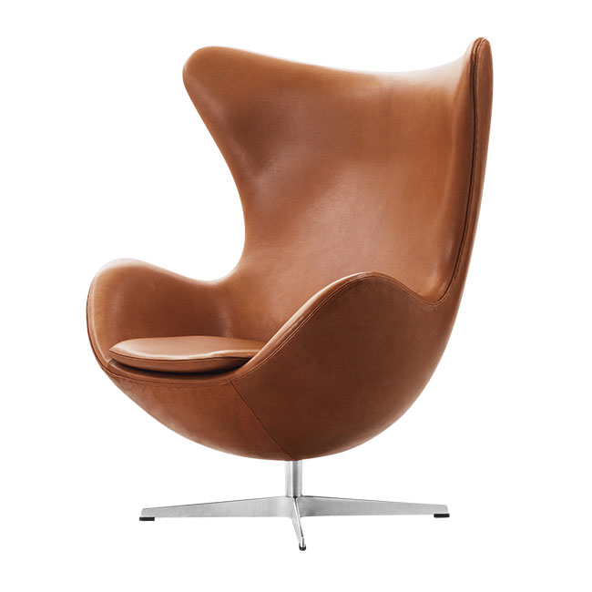 [Fritz Hansen/프리츠한센] EGG Lounge chair (Leather Cat.5) // 에그 라운지 체어 (레더 Cat.5)