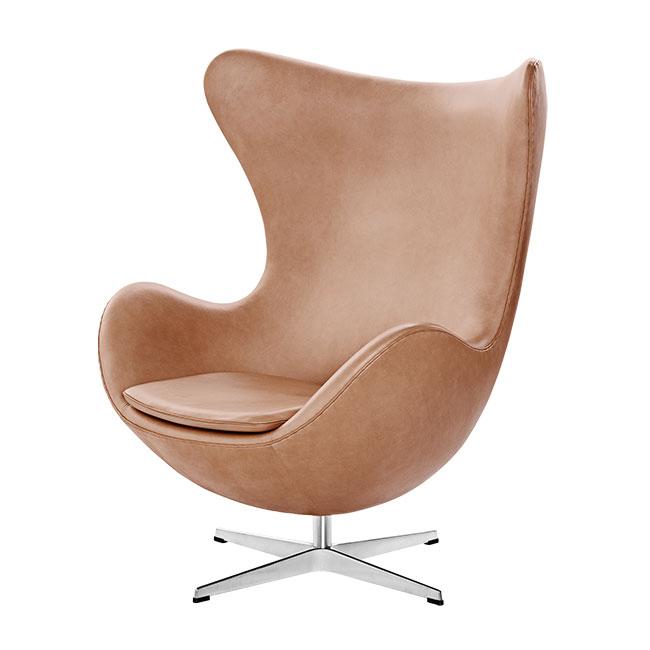 [Fritz Hansen/프리츠한센] EGG Lounge chair (Leather Cat.5) // 에그 라운지체어 (레더 Cat.5)
